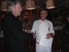 Роджер Вотерс (Pink Floyd) и Джонни Кобалия (шеф-повар)